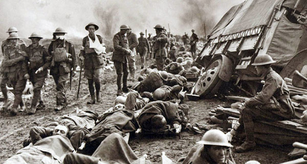 The world we live in today forged in the trenches of the Great War