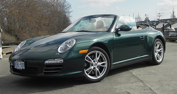 The 2009 Porsche 911 Carrera 4 holds its value