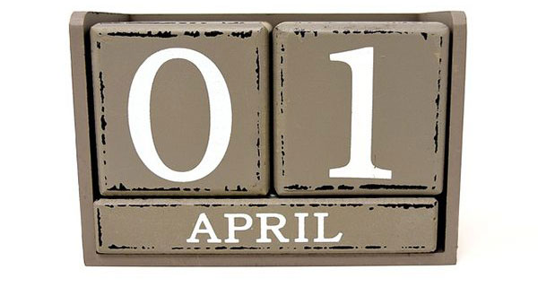 The origin of April Fool's Day