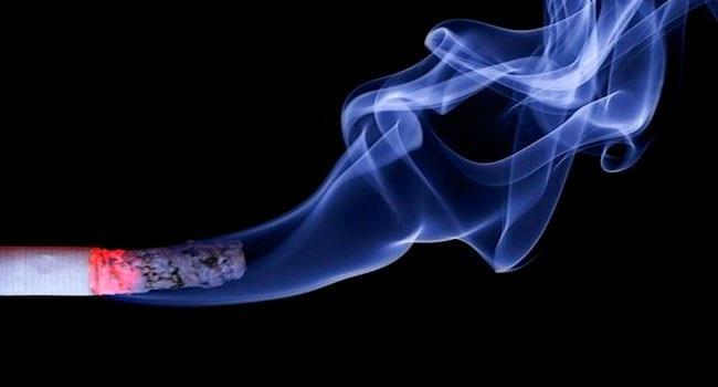 Smoking alleviates psychiatric symptoms