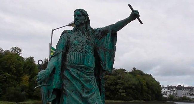Digging for the bones of a lost Irish hero
