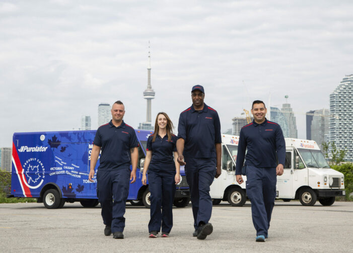 Purolator adding 1,100 jobs to meet increased demand