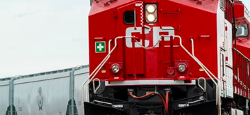 Best ever quarter for CP transporting Canadian grain
