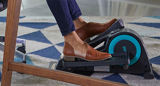 Cubii Jr. offers an easy, quiet workout while you sit